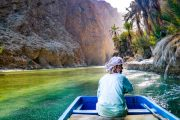 wadi shab oasis